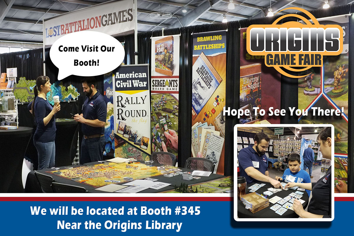 Find us at Booth 345 near the Origins Library