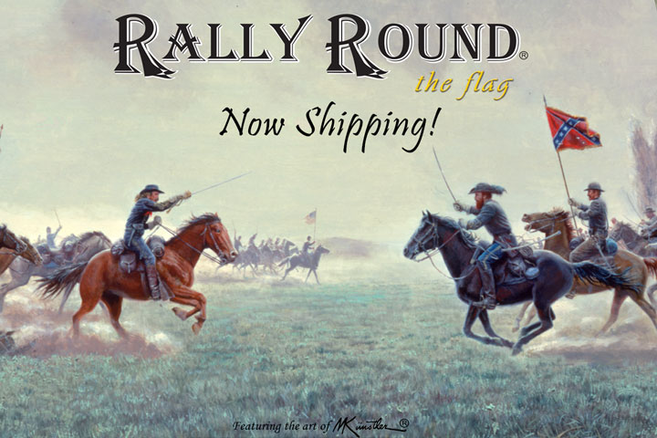 Rally Round the Flag now Shipping!