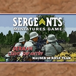 Sergeants German Light Infantry Rifle Team