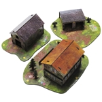 Pontigou Farm is a typical Normandy farm that expands Sergeants Miniatures Game.