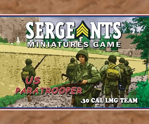 SMG - Paratroopers .30 Cal MG Team