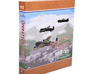 Operation Tongs expands Sergeants Miniatures Game Red Devils with scenarios and maps.