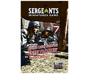 Sergeants German Light Infantry Infiltration Tactics Module