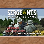 Sergeants German Light Infantry Assault Team
