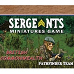 Sergeants Red Devils Pathfinder Commandoes