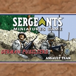 Sergeants German Fusilier Assault Section