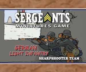 Sergeants German Light Infantry Sharpshooter Section